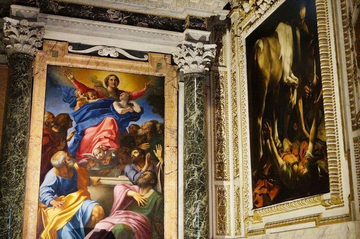 Crucificarea Sfantului Petru – Caravaggio- Biserica Santa Maria del Popolo, Roma