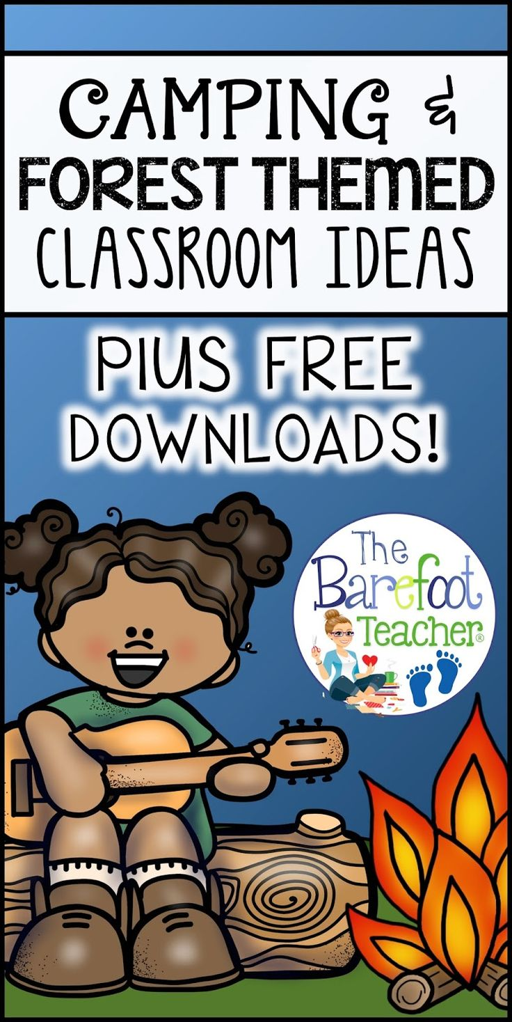 For a Forest or Camping themed classroom: Find activities, crafts, snacks, and more ideas than you can use for your Preschool, Kindergarten, or First Grade class and students. Plus FREE DOWNLOADS!