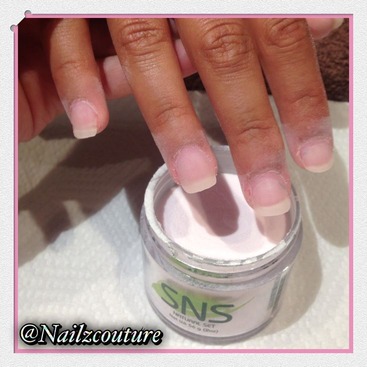 8 Best Sns Nails Images On Pinterest Nail And