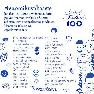 Piilotettu aarre: Suomi-kuvahaaste eli #suomikuvahaaste