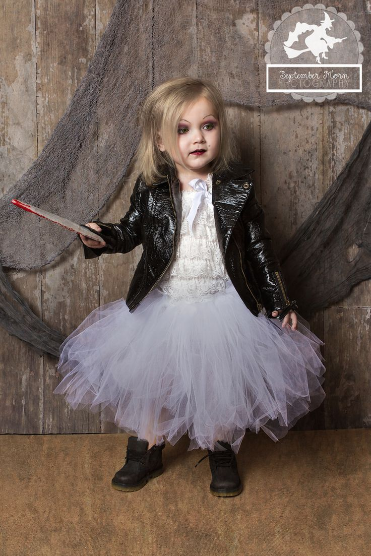 chucky costumes for kids tiffany | Bride Of Chucky Costume For Kids...yea, Graycen tells me she wants to be the bride of chucky.. SHe has never seen any of these movies at all!! Lol. Alrighty then...:p