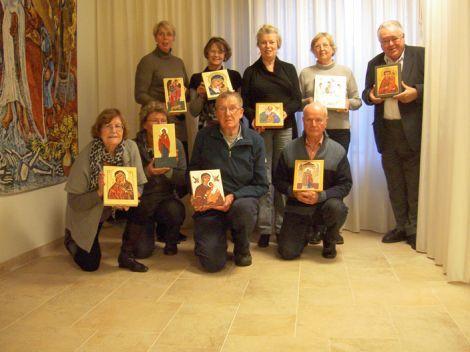 cursus ikoonnschilderen in zwolle, 2011