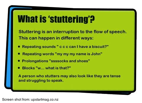 Best What Is Stuttering Images On   Speech Therapy