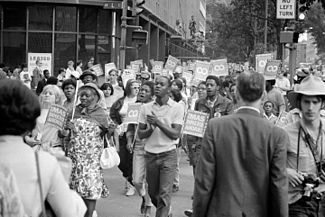 The Poor People's Campaign, or Poor People's March on Washington, was a 1968 effort to gain economic justice for poor people in the United States. It was organized by Martin Luther King, Jr. and the Southern Christian Leadership Conference (SCLC), and carried out under the leadership of Ralph Abernathy in the wake of King's assassination.