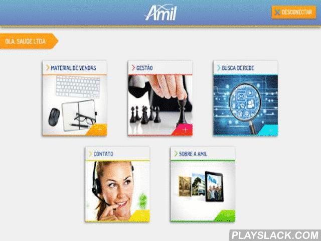 Amil Corretores  Android App - playslack.com ,  O Amil Corretores é um aplicativo que traz tudo de que você, corretor que trabalha com os produtos da Amil, precisa para alavancar as suas vendas. O aplicativo apresenta informações detalhadas sobre todas as linhas de produto da Amil - Blue, Medial, Dix e Dental - de forma atraente e cativante. Com ele também é possível fazer consultas na Rede Credenciada dos planos, para mostrar aos seus clientes os prestadores que atendem nas regiões de seu…