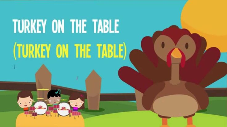 Thanksgiving Dinner! It's a Thanksgiving song for preschoolers and kindergarteners. #thanksgiving #kidssongs