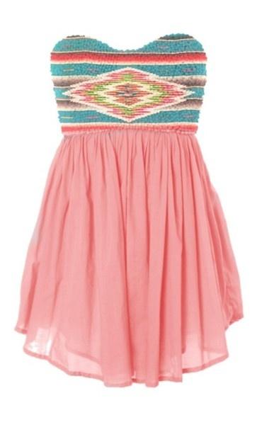 so cute!: Dresses Fashion, Color, Cute Dresses, Aztec Prints, Cute Summer Dresses, Tribal Prints, Tribal Patterns, Indian Patterns, Tribal Dresses