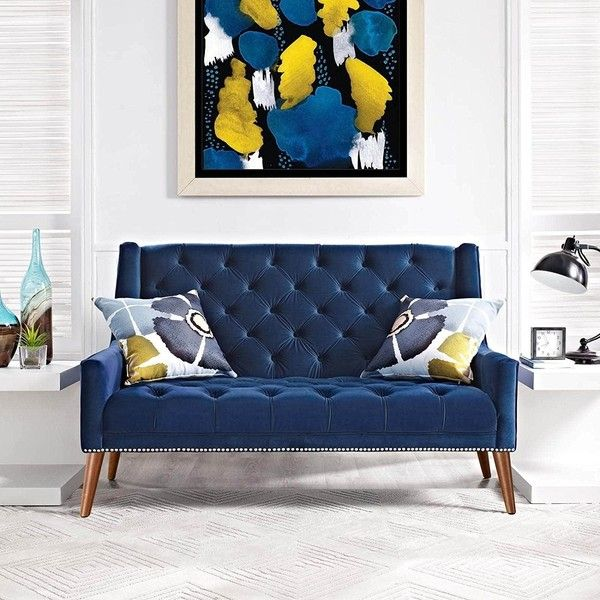 The 25 best Navy blue sofa ideas on Pinterest Blue couch living