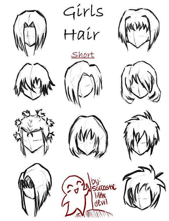 Hair Styles For Girls Short By SarcasticLittleDevildeviantart On DeviantART