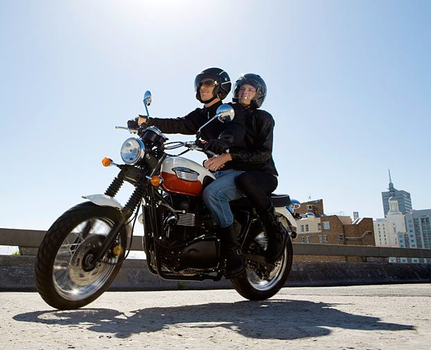 This article was written 4 years ago... but important tips to keep in mind if you ride a bike!Top 10 Motorcycle Safety Tips : DNews -