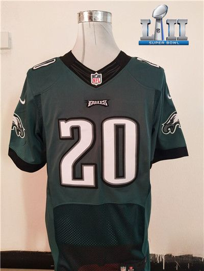 2f440bb6892 New Philadelphia Eagles #20 Brian Dawkins Midnight Green Super Bowl LII  Team Color NFL New Elite jersey