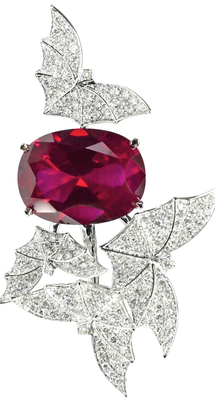 Rosamaria G Frangini | High Red Jewellery | Van Der Bauwede Genève