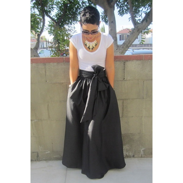 DIY Skirt Maxi Madness! found on Polyvore