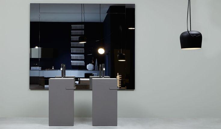 Antoniolupi ''Fusto'' collection | design Nevio Tellatin  Antoniolupi ''Fusto'' koleksiyonu | tasarım Nevio Tellatin #bathroomdesign #bathroomideas