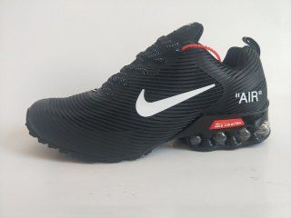 70d88debc5 Mens Nike Air Shox KPU Black White Footwear | Nike Air Shox Running ...