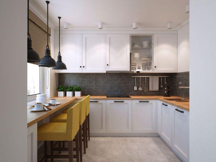 37 besten Küche Bilder auf Pinterest Minimalismus, Charme und U - sonne scheint gelben kuche