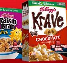 $2 off Any 4 Kellogg's Cereals Coupon