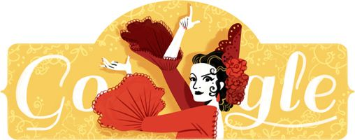2016/1/21 西班牙佛朗明哥舞之后 Lola Flores 93歲誕辰 the 93th birthday of Spanish flamenco dance queen-- Lola Flores