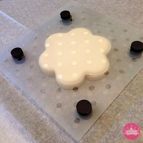 Stenciling Cookies with an Airbrush – The Cookie Countess