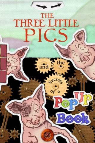 This three little pigs book app looks pretty cool! $3.99Comics Book, Popup Book, Three Little Pigs, Literacy Ipad, Book App, App En, Ipad App, Kids App, The Secret