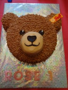 Teddy Bear Cake                                                                                                                                                                                 More