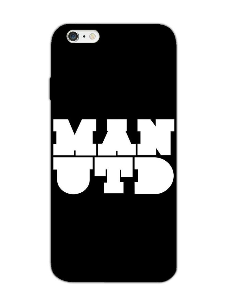 Manchester United ManUtd Typography - Designer Mobile Phone Case Cover for Apple iPhone 6