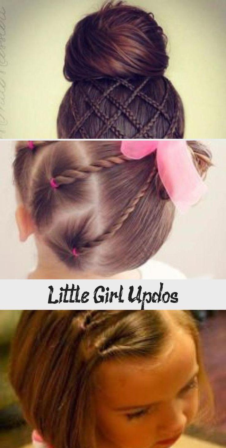 Little Girl Updos #babyhairstylesAfro #babyhairstylesFirstHaircut #babyhairstylesKorean #babyhairstylesIllustration #Baldbabyhairstyles