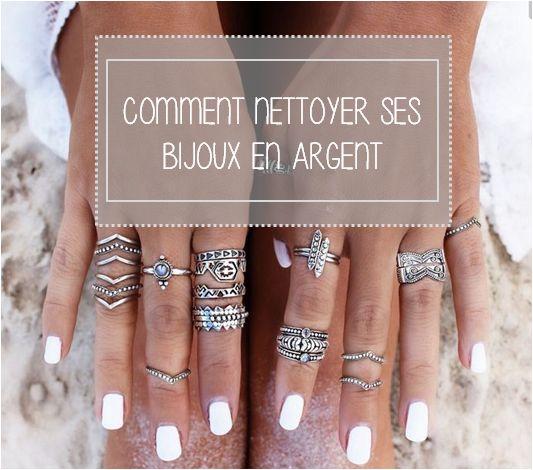 Nettoyer des bracelets en argent
