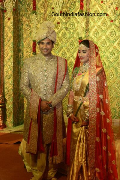 Revanth Reddy Daughter Nymisha Reddy's Wedding - South India Fashion Blog