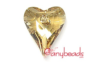 6240 Wild Heart Pendant - Golden Shadow