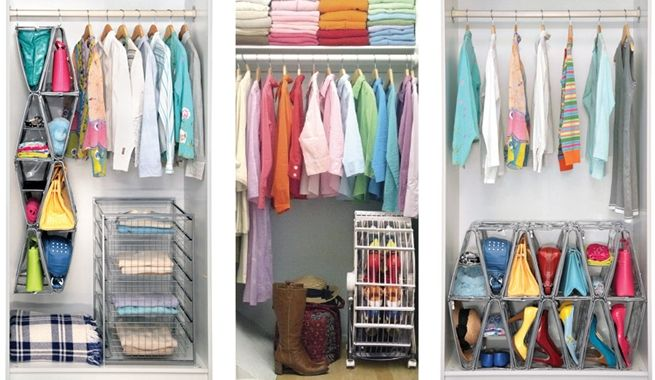Organize Your Clothes 10 Creative And Effective Ways To Store And Hang Your Clothes: Como Organizar Ropa En Poco Espacio
