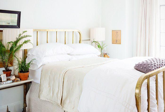 Color idea for Grandma's old bed.