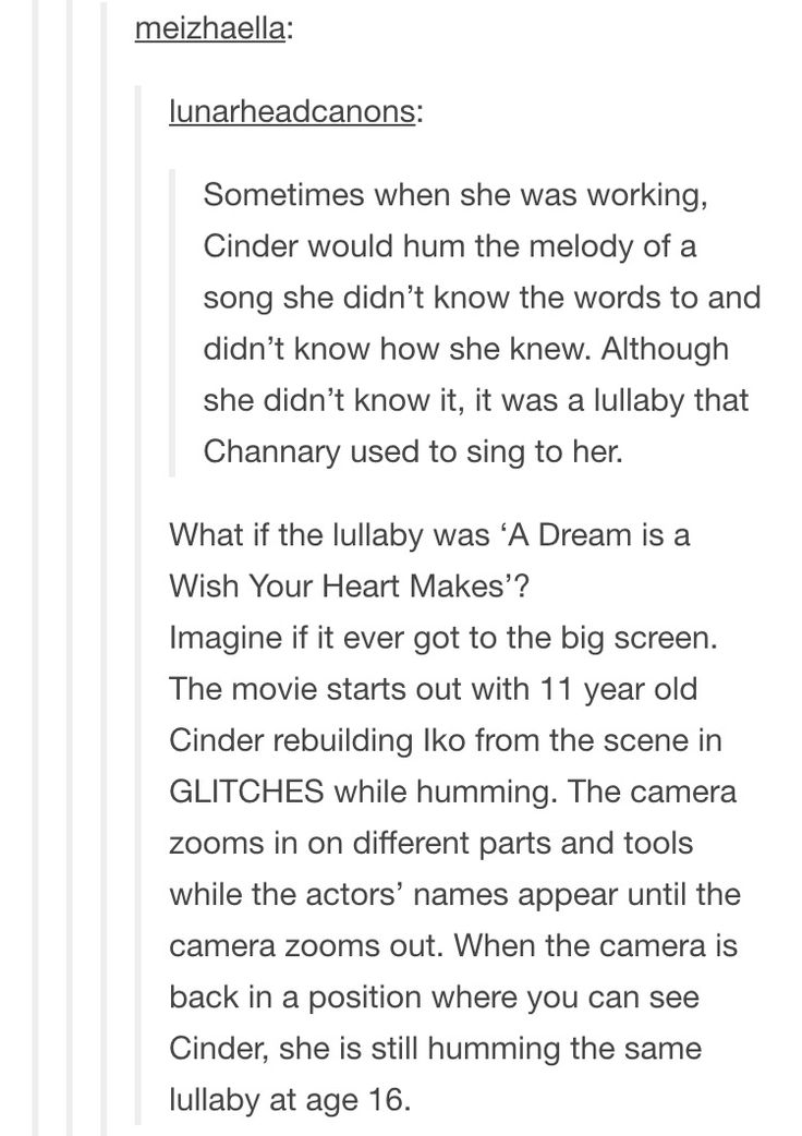 AND THEN DURING FAIREST WE SEE CHANNARY SINGIG HER THAT LULLABY DUUUUUDEEE