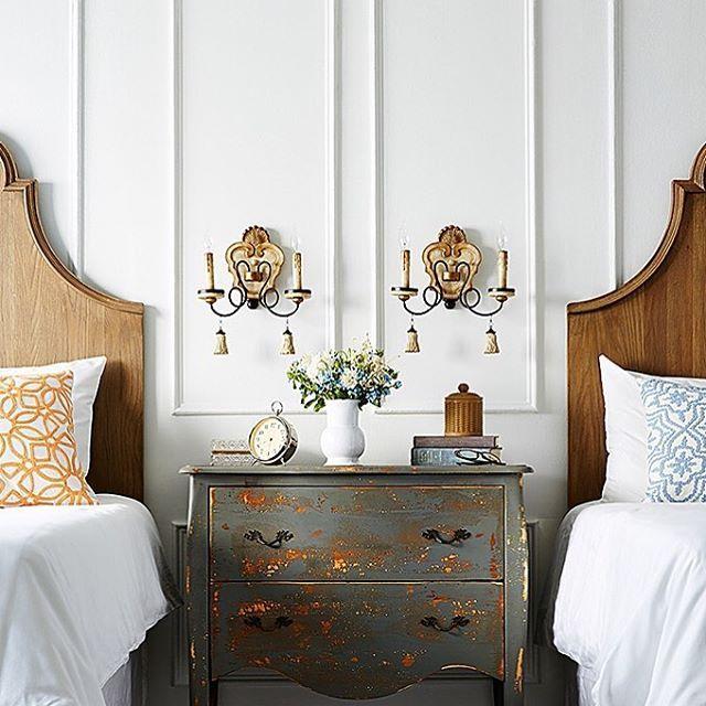 Beautiful twin bedroom  onekingslane   bedroom  twinbeds  interiordesign   Vintage TwinsTwin BedsGuest. 1681 best Home Inspiration images on Pinterest
