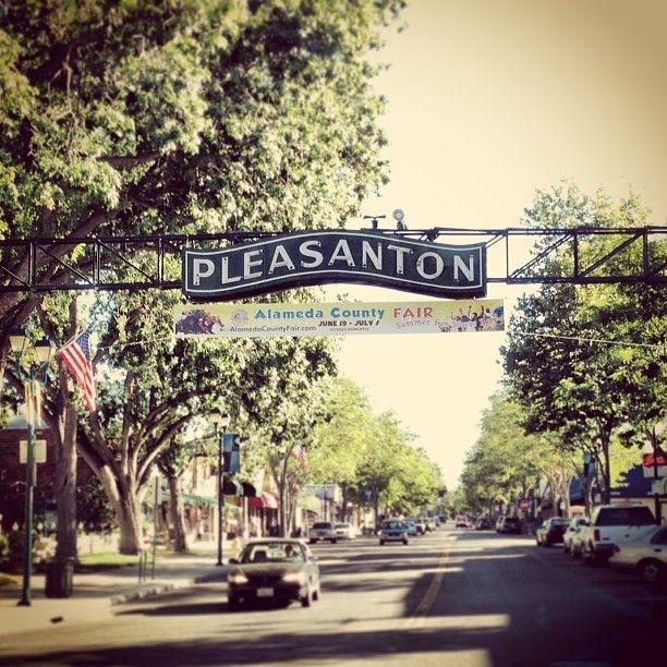 Downtown Pleasanton in Pleasanton, CA