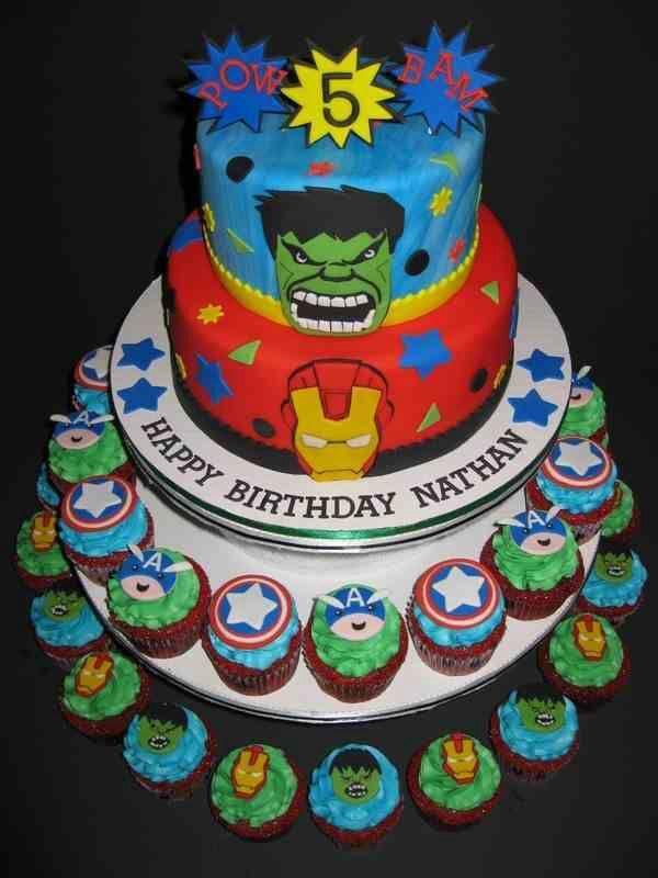 1000 Images About Marvel On Pinterest Avenger Cake