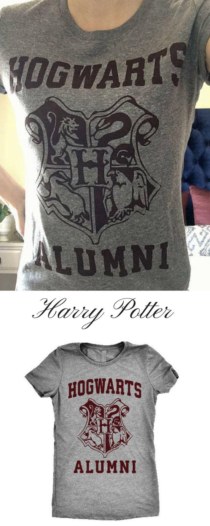 Hogwarts Alumni T-Shirt #Harrypotter #hogwarts  #christmasgifts  #affiliate