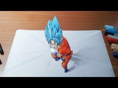 Cómo dibujar a Gogeta SSJ4   How to draw Gogeta SSJ4   ArteMaster - YouTube