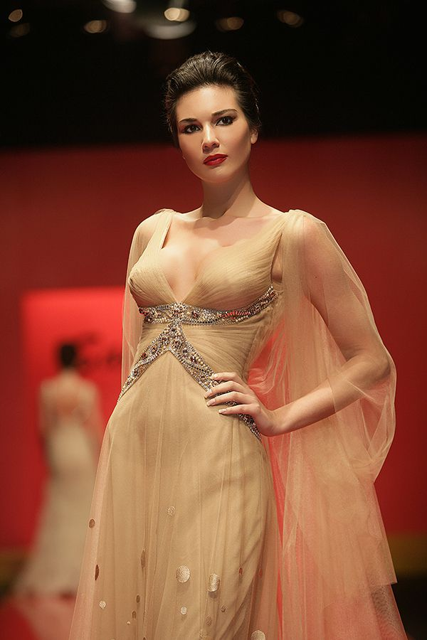 White and Gold Wedding. Gold Bridesmaid Dress. Soft and Romantic. Saher Dia Crystal Collection