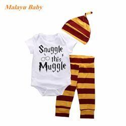 Snuggle This Muggle 3 Piece Striped Set