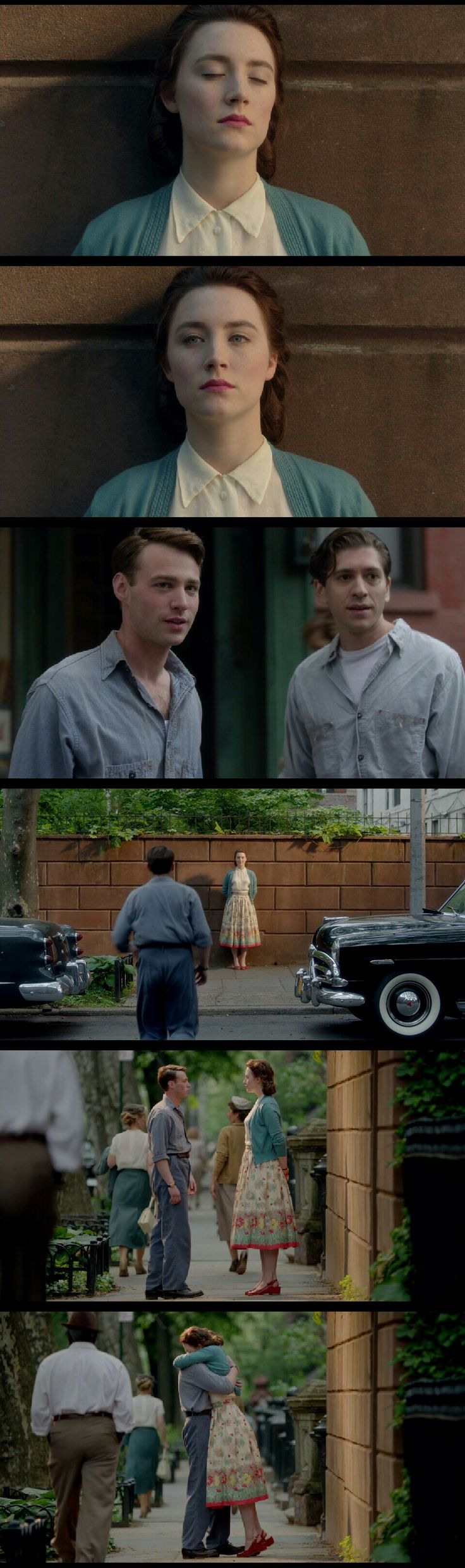 """-Brooklyn (2015) movie final scene. """"And one day the sun will come out - you might not even notice straight away, it'll be that faint. And then you'll catch yourself thinking about something or someone who has no connection with the past. Someone who's only yours. And you'll realize... that this is where your life is."""" [Movie Last Line]"""