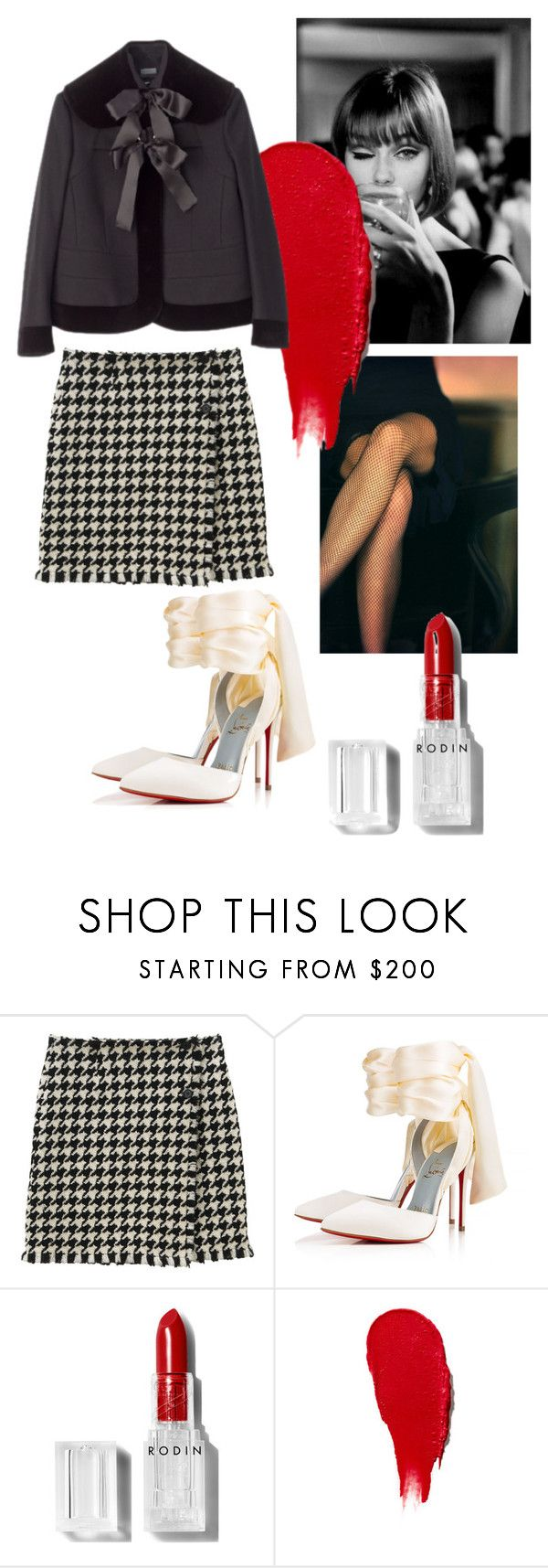 """Untitled #245"" by gina-stewart75 on Polyvore featuring Christian Louboutin and Rodin"