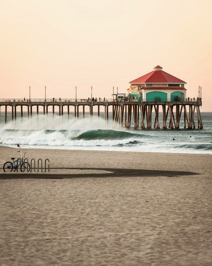 Places To Visit Huntington Beach Ca: 91 Best Huntington Beach Pier Images On Pinterest