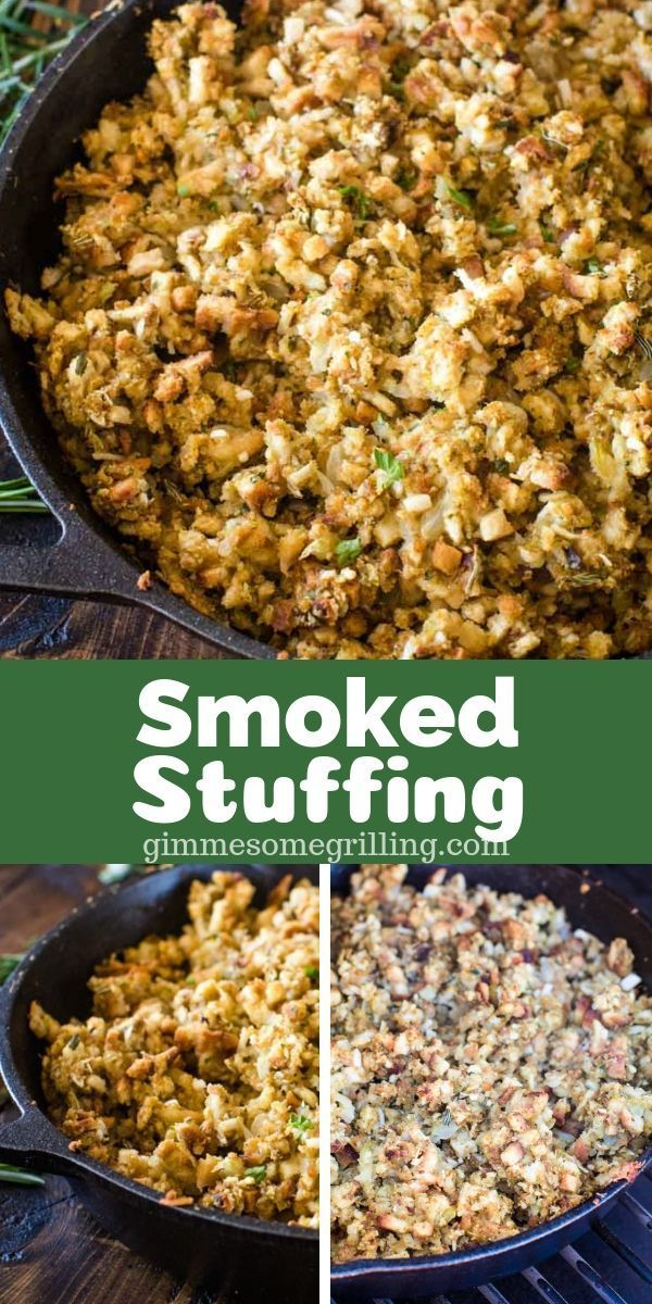 Looking For A Holiday Side Dish Prepared On Your Electric Pellet Grill This Traeger Stuffing Is The Perfect Traeger Recipes Recipes Healthy Vegetable Recipes