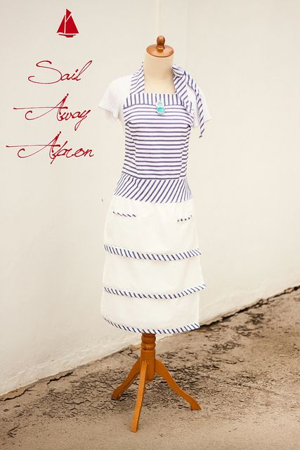19 aprons with free sewing patterns