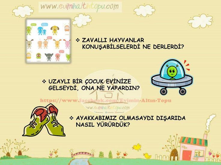 çocukların hayal gücünü geliştiren sorular (6) | Evimin Altın Topu