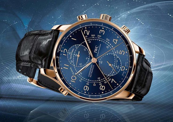 """IWC - Portugieser Chronograph Rattrapante Edition """"Boutique Milano"""" 