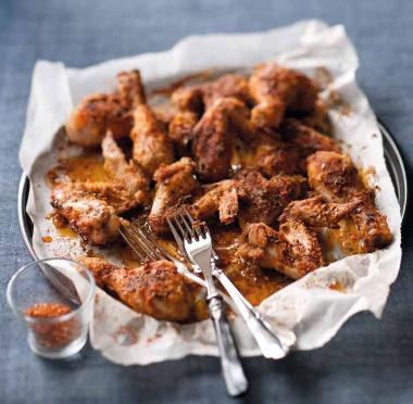 Pikantní kuřecí křídla / Spicy chicken wings