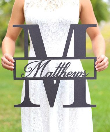 Love this Unfinished Personalized Family Wall Sign on #zulily! #zulilyfinds