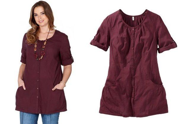 Блузки, рубашки и туники